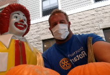 Pumpkins for Ronald McDonald House